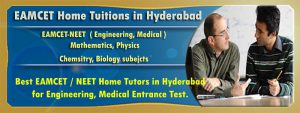 EAMCET Home Tuitions in Hyderabad